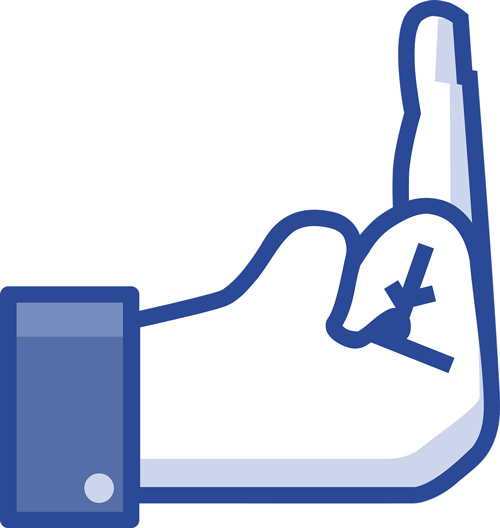 In love with Facebook